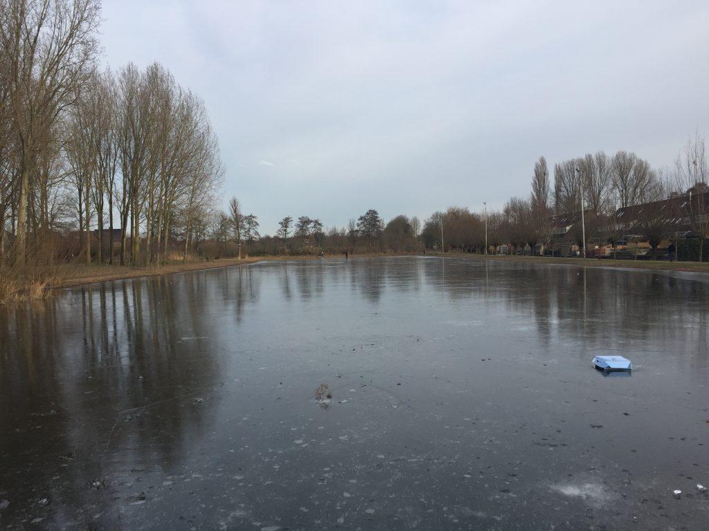 De Meernse IJsbaan op zaterdag 28 januari 2017